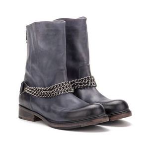 Vintage Foundry Zoey Leather Chain Boot 6.5